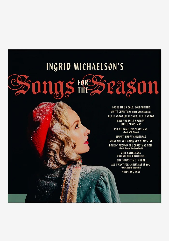Ingrid Michaelson Songs For The Season CD With Autographed