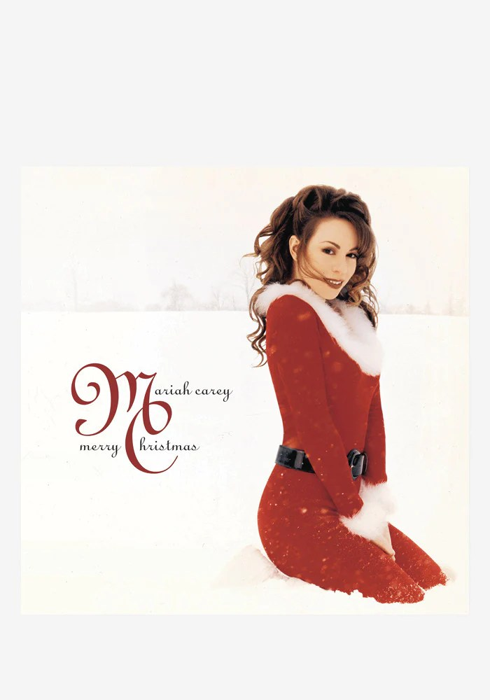 Mariah Carey Merry Christmas Deluxe Aniversary LP Color
