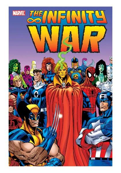 infinity war graphic novel