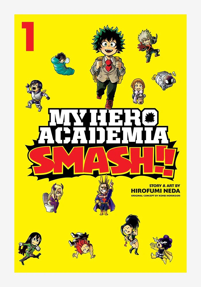 My Hero Academia Vol. 1 : academia, MEDIA-My, Academia:, Smash!, Manga, Newbury, Comics
