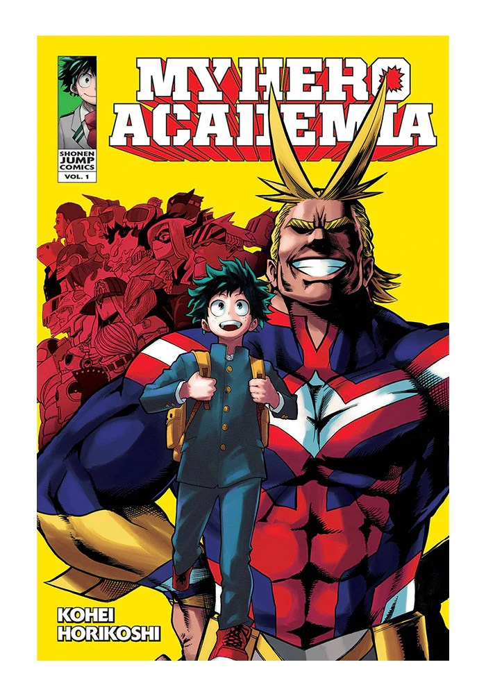 My Hero Academia Vol. 1 : academia, MEDIA-My, Academia, Manga, Newbury, Comics