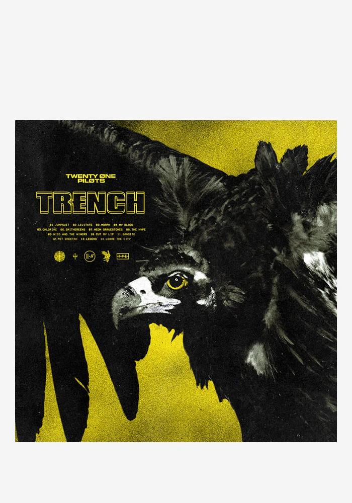 Twenty One Pilots Album : twenty, pilots, album, Twenty, Pilots-Trench, Cassette, Vinyl, Newbury, Comics