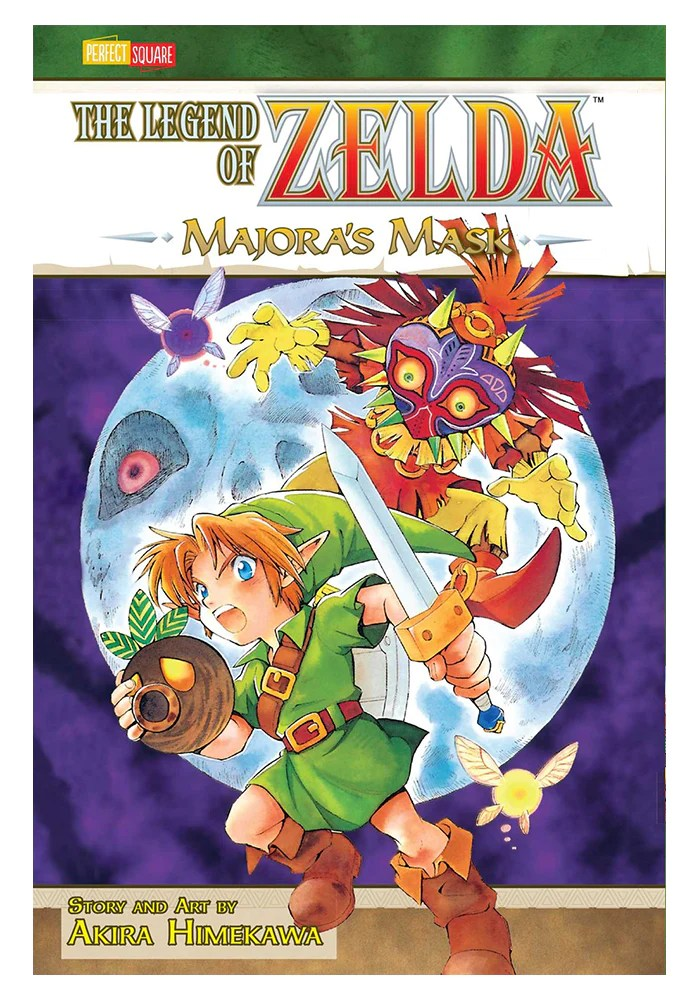 The Legend Of Zelda Majora's Mask : legend, zelda, majora's, MEDIA-Legend, Zelda, Majora's, Manga, Newbury, Comics