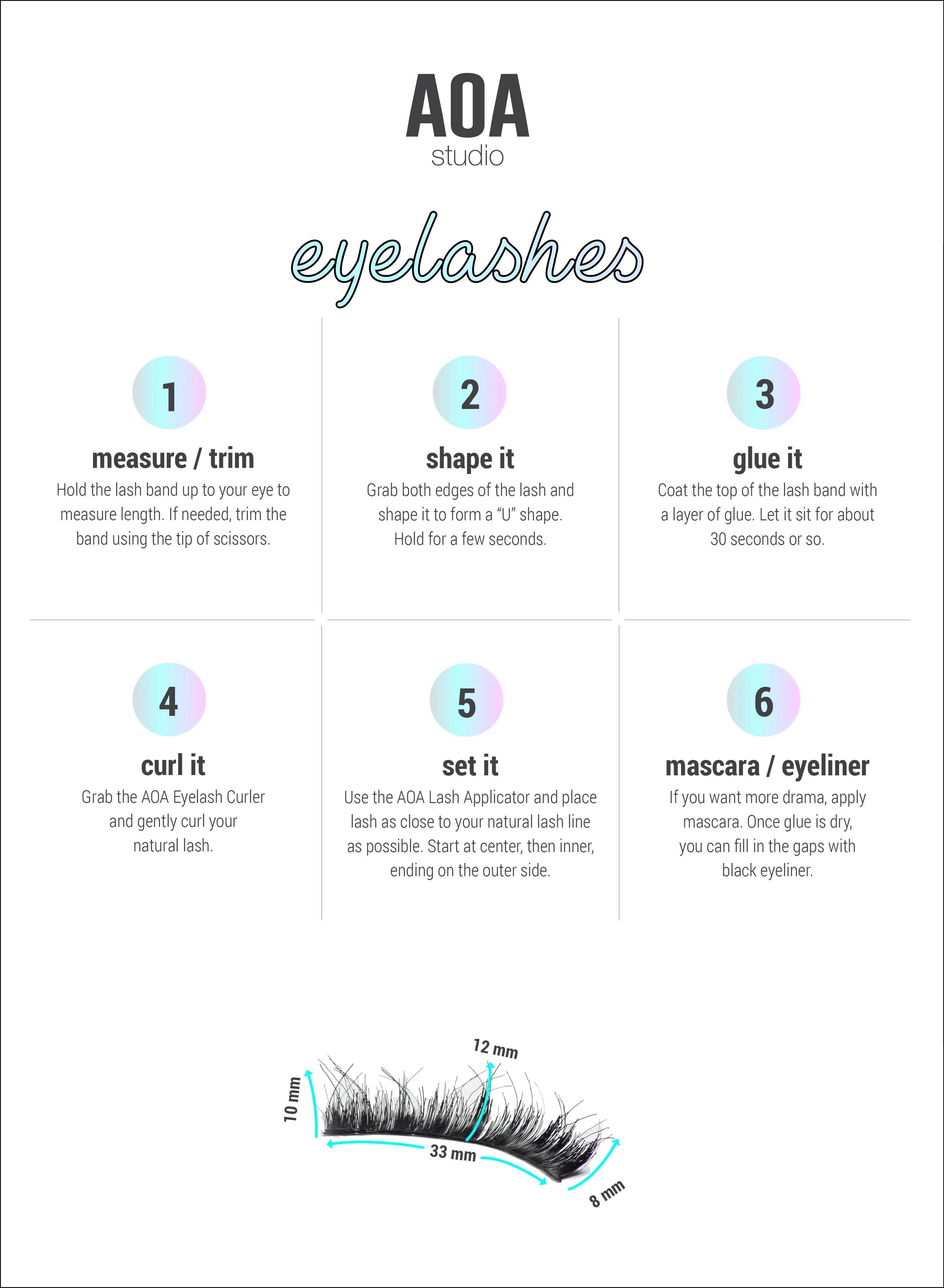 aoa studio eyelashes stella [ 2933 x 4000 Pixel ]