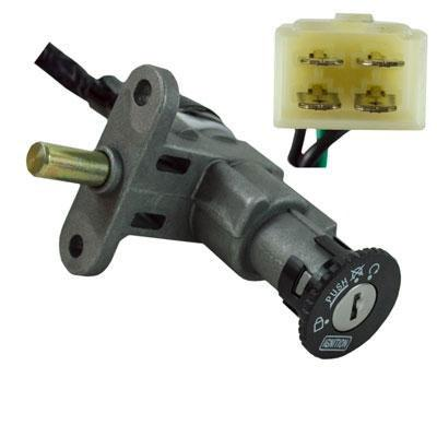 ignition key switch  4 wire  gy6 50cc  150cc scooters and