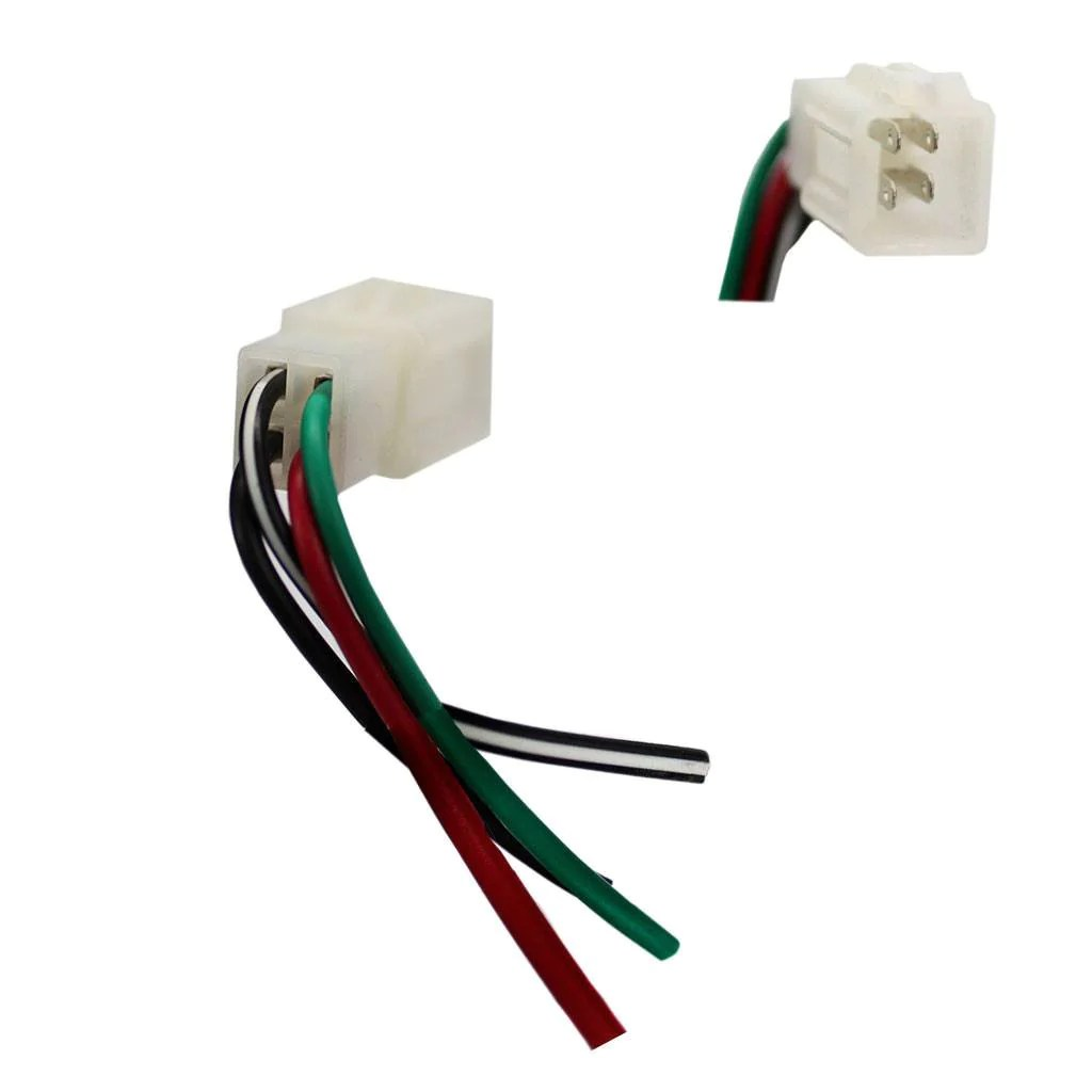 hight resolution of  ignition key switch wiring harness plug 4 wire vmc chinese parts