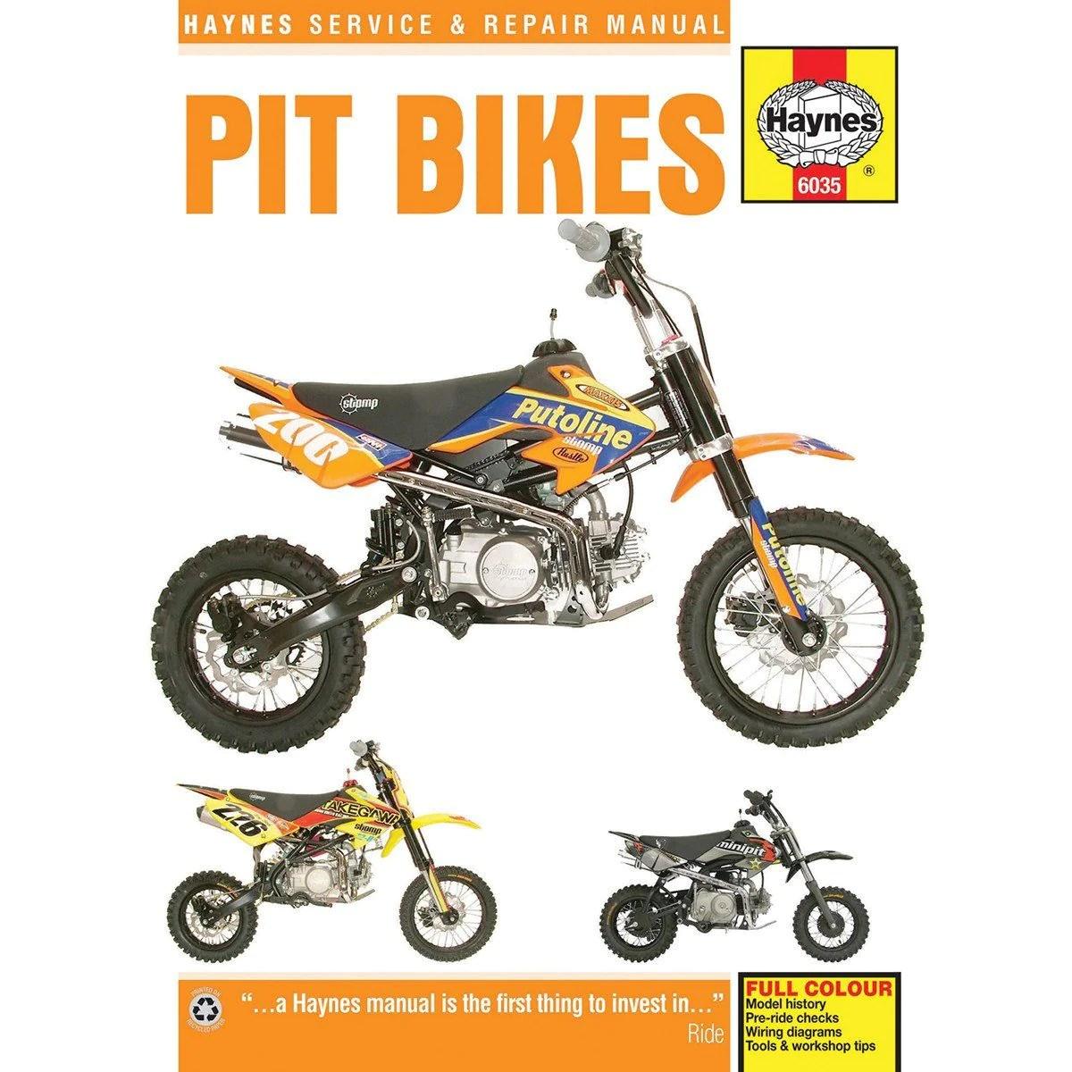 medium resolution of haynes pit bike manual 6035 chinese 4 stroke air cooled horizontal engines