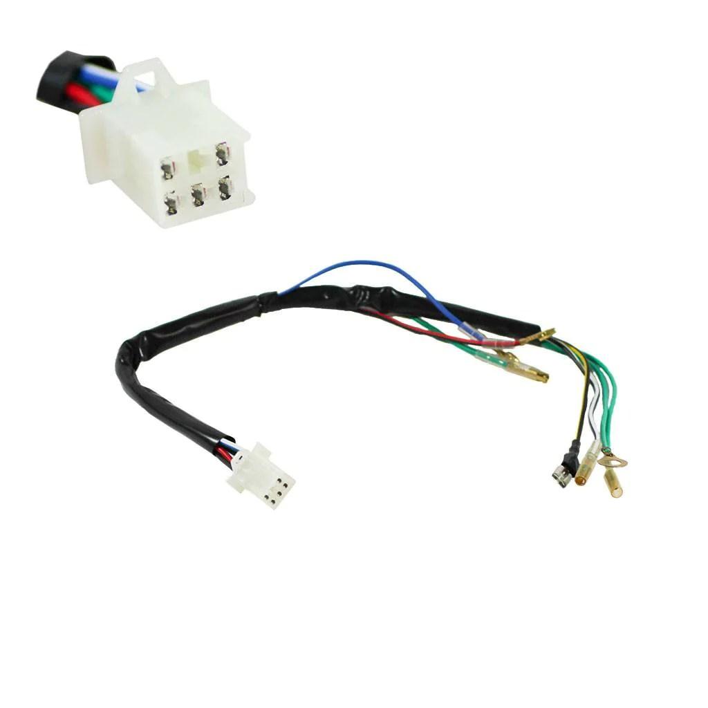 atv universal test wiring harness vmc chinese parts  [ 1024 x 1024 Pixel ]