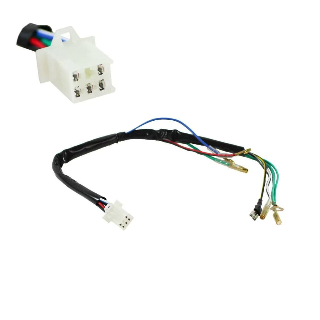 hight resolution of  atv universal test wiring harness vmc chinese parts