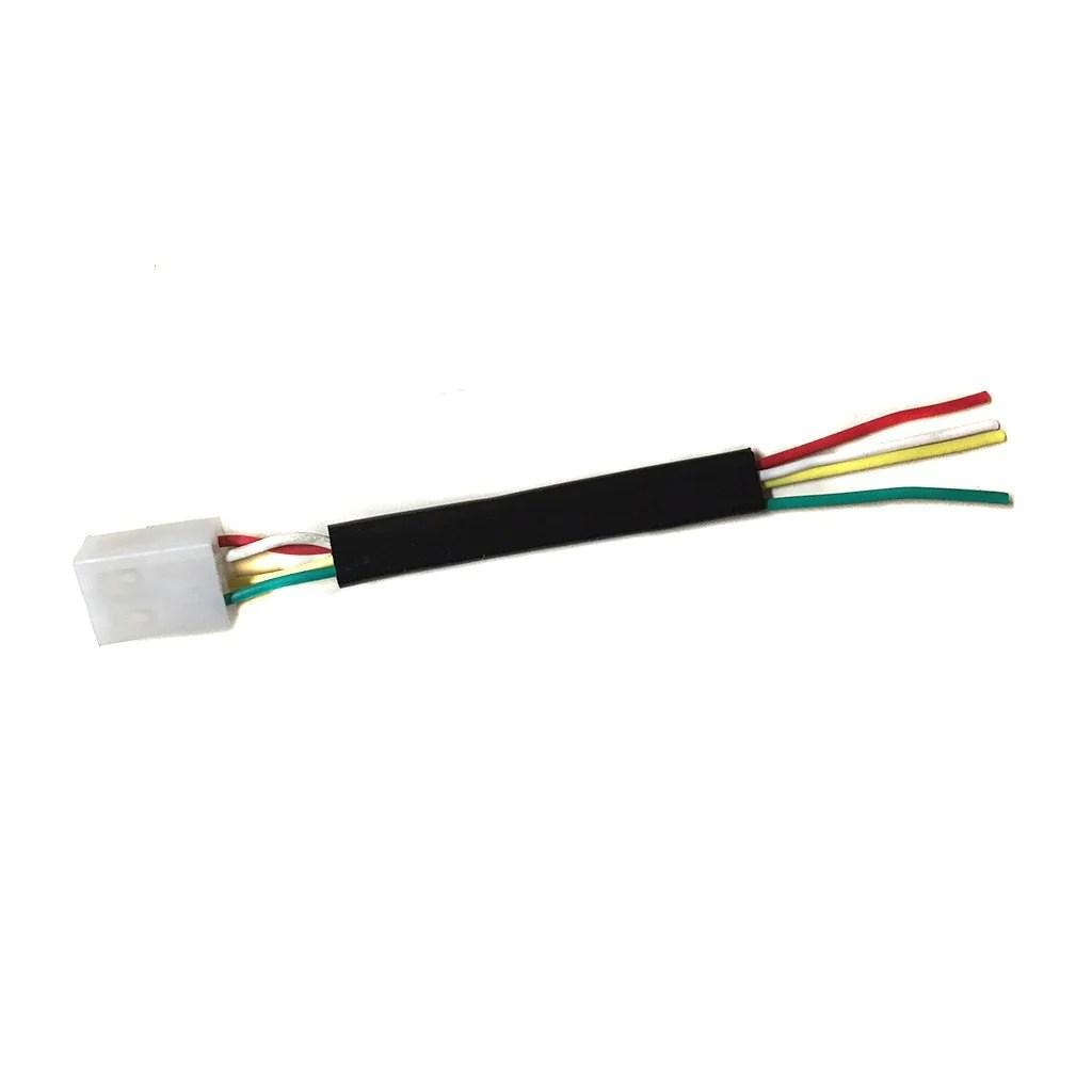 hight resolution of voltage regulator wiring harness plug 4 wires vmc chinese parts