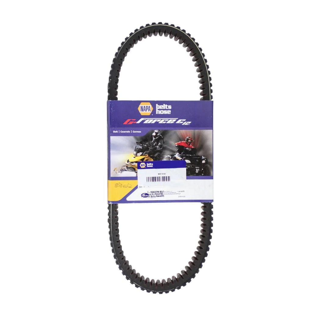 hight resolution of  heavy duty drive belt for kawasaki mule gates napa g force 03g3470