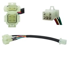 Chinese 6 Pin Cdi Wiring Diagram Club Car V Glide Troubleshooting Jumper Wire 5 To Honda Style Plug Vmc