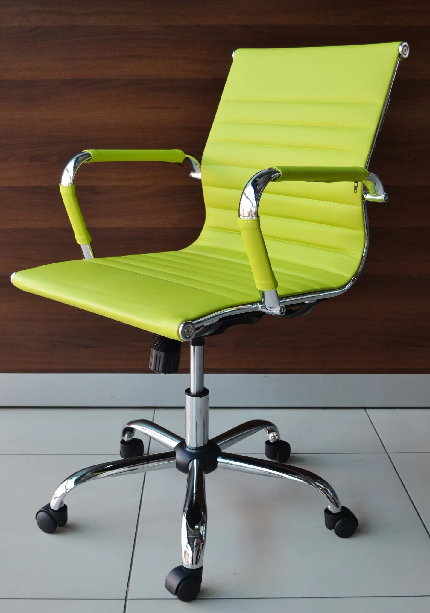 designer executive chair lazy boy leather chairs recliners lime green office  outlet