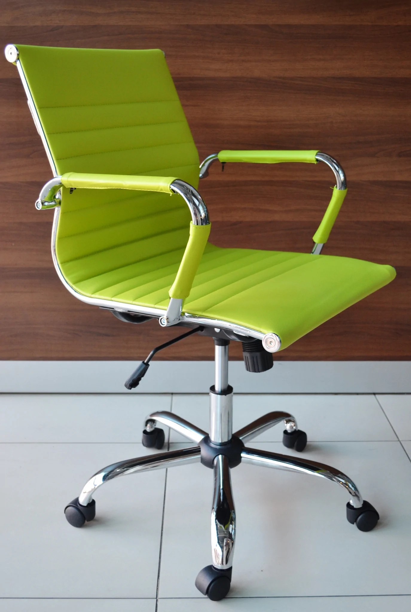 designer executive chair high back patio covers lime green office  outlet