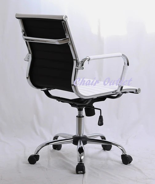 White Designer Office Chair  Chair Outlet