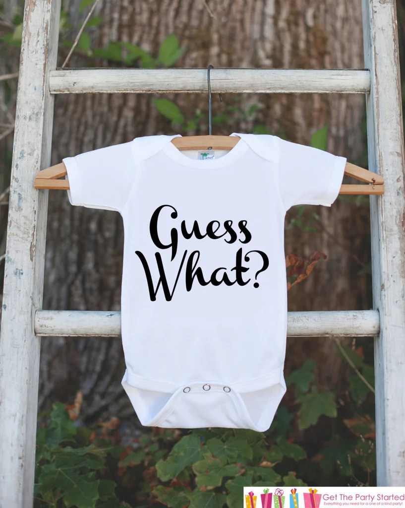 pregnancy announcement guess what