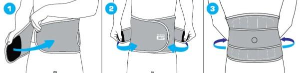 Back Brace With Stays , best back support belt for lower back pain ,Neo G Stabilised Back Brace - Adjustable Compression to Stabilise
