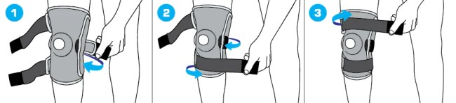 Stabilized Hinged Open Knee Support , NEO G Stabilized Hinged Open Knee Support