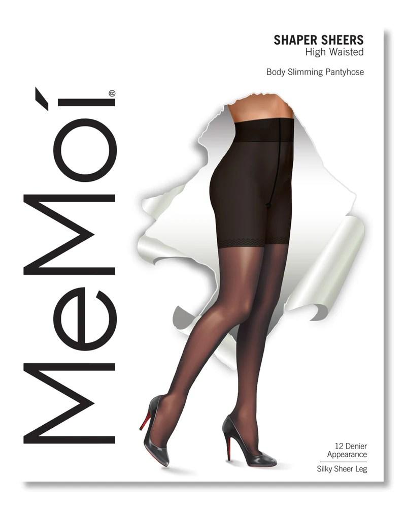 MeMoi Slimming Tights | Shaping High Waist Control Top Tights