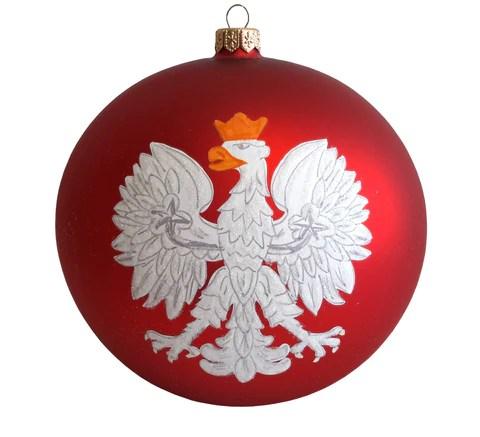 Polish Folk Art Christmas Ornaments Set Of 7