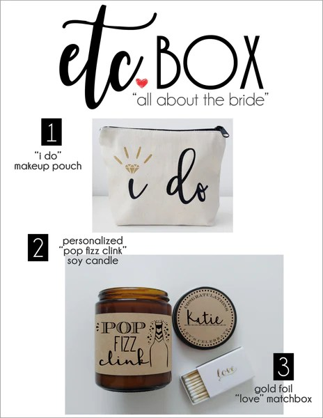 Bride Gift Box For Her Wedding Day Gift For Bride Miss To