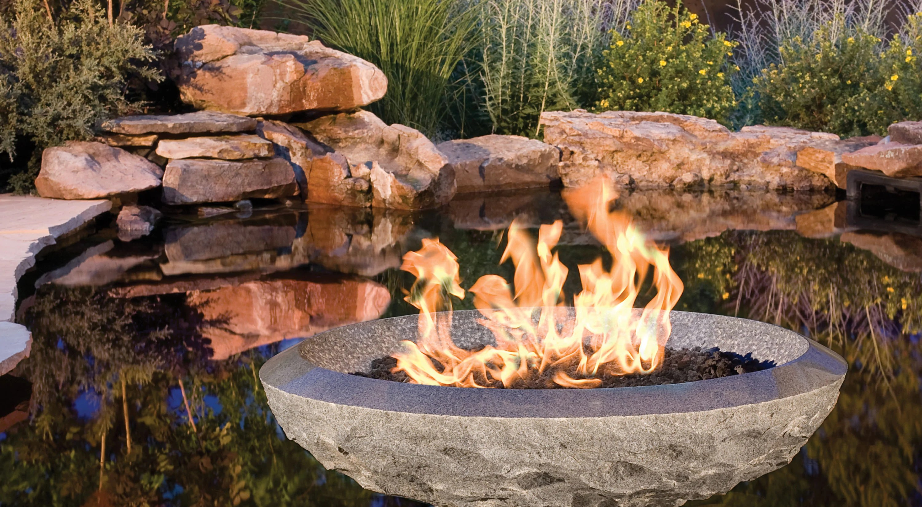 Stone Fire Pit Vessels  Stone Forest