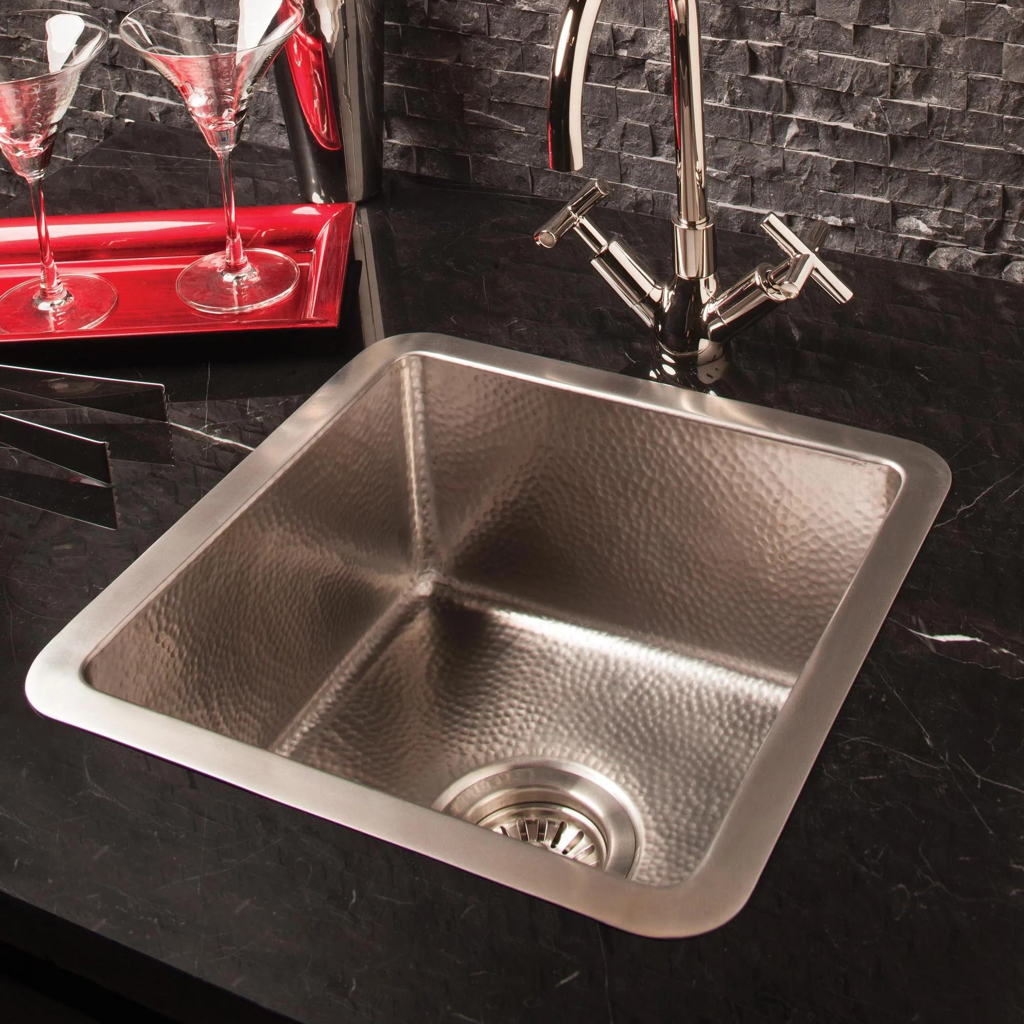 Stainless Bar Sink  Stone Forest