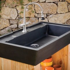 Stone Kitchen Sink Aid K5ss Sinks Marble Granite Forest Salus Potting