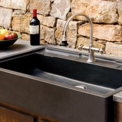 Stone Kitchen Sink Rolling Island Salus Outdoor Forest
