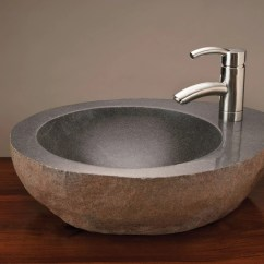 Granite Top Kitchen Cart Faucet Spout Replacement Natural Vessel With Mount – Stone Forest
