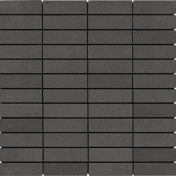 1 X 3 Light Gray Basalt Honed Mosaic Tile Deko Tile