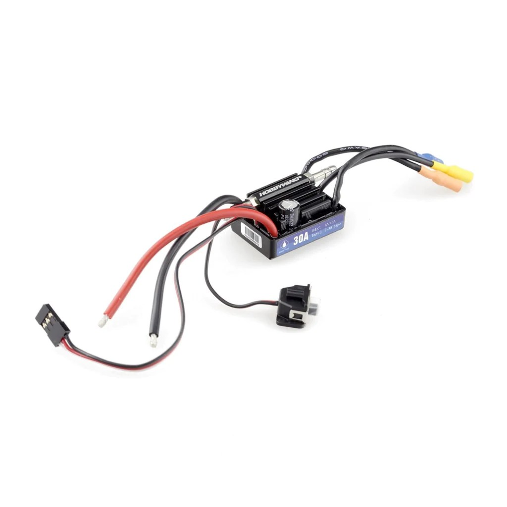 hobbywing seaking waterproof 30a v3 brushless esc speed control for rc boat [ 1024 x 1024 Pixel ]