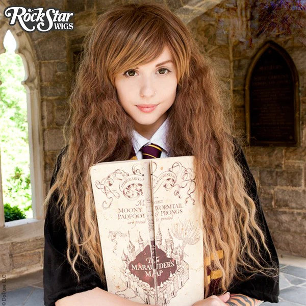 Cosplay Wigs USA Store Harry Potter  Hermione Granger Wig  Rockstar Wigs