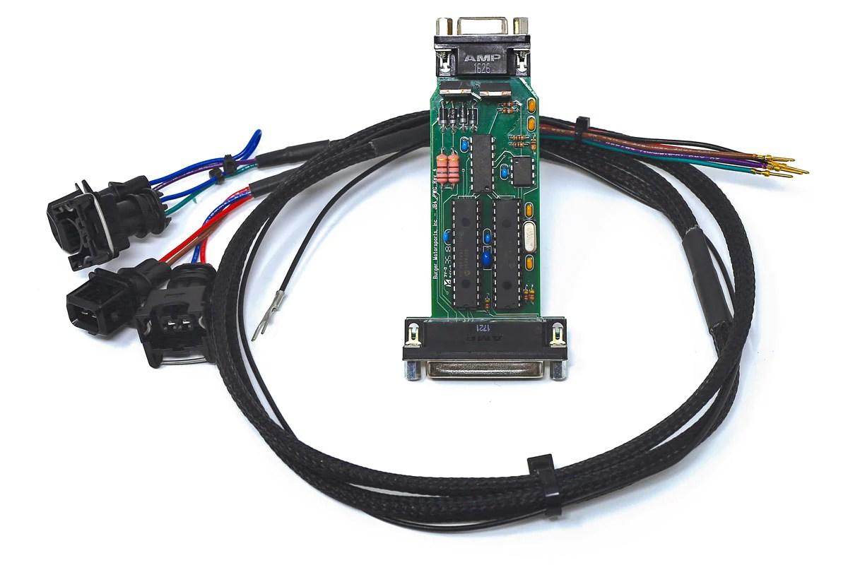 hight resolution of s63tu v2 upgrade kit board and solenoid harness pigtail burger motorsports inc