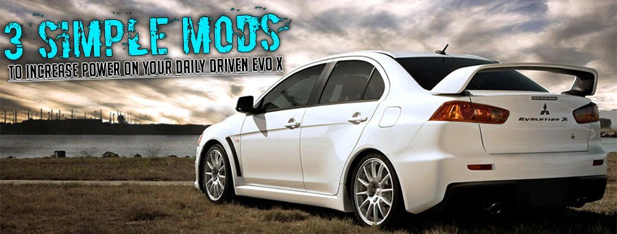 2003 mitsubishi lancer oz rally radio wiring diagram submersible well pump control box 3 simple power mods for the daily driver evo x modern automotive