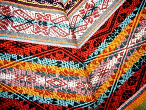 Andean textiles tell stories literally  Threads of Peru