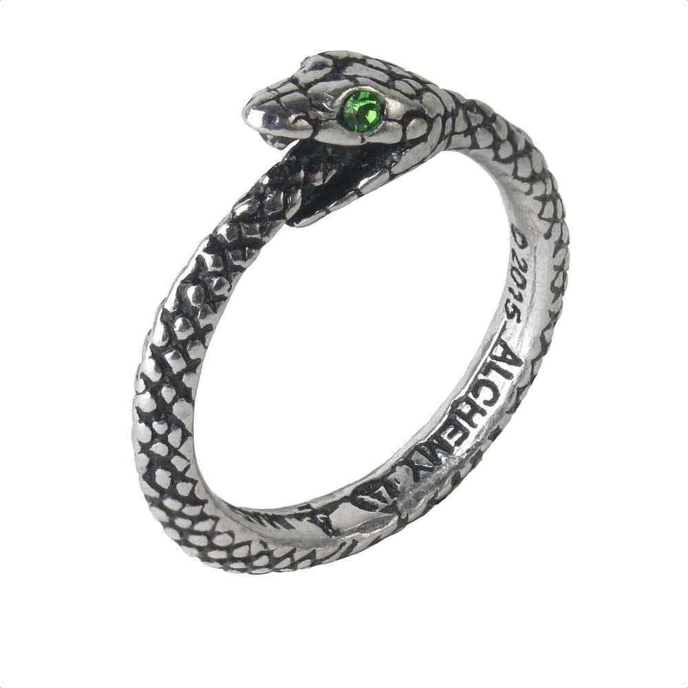 Sophia Serpent Ring Ouroboros Alchemy Gothic