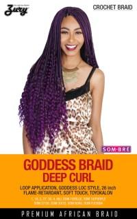 Zury Goddess Braid Deep Curl Synthetic Braiding Hair ...