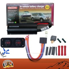 Redarc Bcdc Wiring Diagram Gm Diagrams Online Bcdc1225lv Dual Battery System Dc To Charger