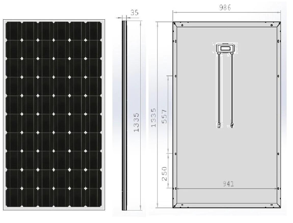 hight resolution of neo solar power mono 4bb 240w solar panel caravan boat camping charging kit