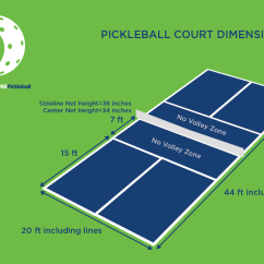 Measurement Of Tennis Court With Diagram Kenmore 110 Washer Parts What Is Pickleball  Pure