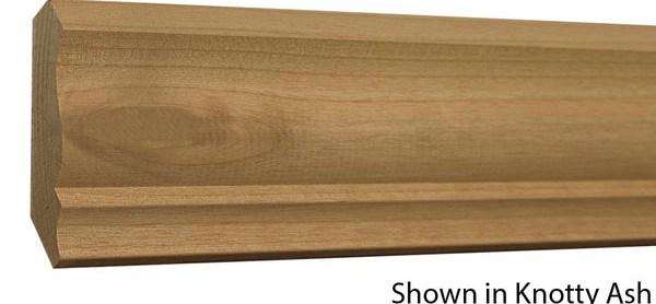 Knotty Alder Crown Cr 320 024 1 Kal 4 68 Ft – American Wood   Knotty Alder Stair Treads   Hardwood Lumber   Handrail   Railing   Butcher Block   Lumber