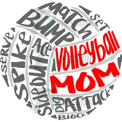 Volleyball Mom  3T Xpressions
