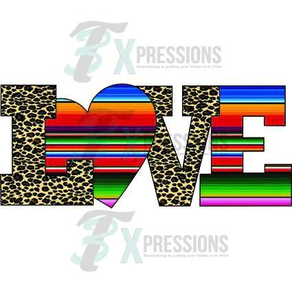 Serape And Leopard Love  3T Xpressions