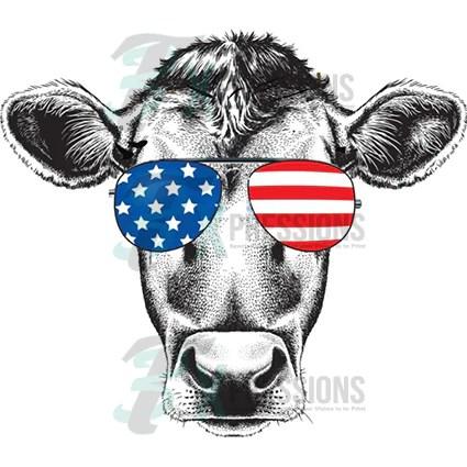 Patriotic cow  3T Xpressions