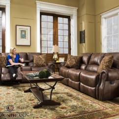 Accent Living Room Chairs With Arms Chair Kitchen Design Waylon Mocha Glider Reclining Sofa, Loveseat And Recliner | My Furniture Place