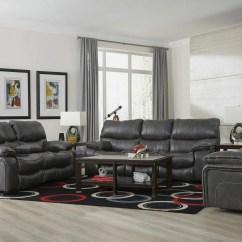 Catnapper Sofas And Loveseats Serta Upholstery Kelsey Sofa Loveseat Set Camden Gray Reclining My Furniture Place