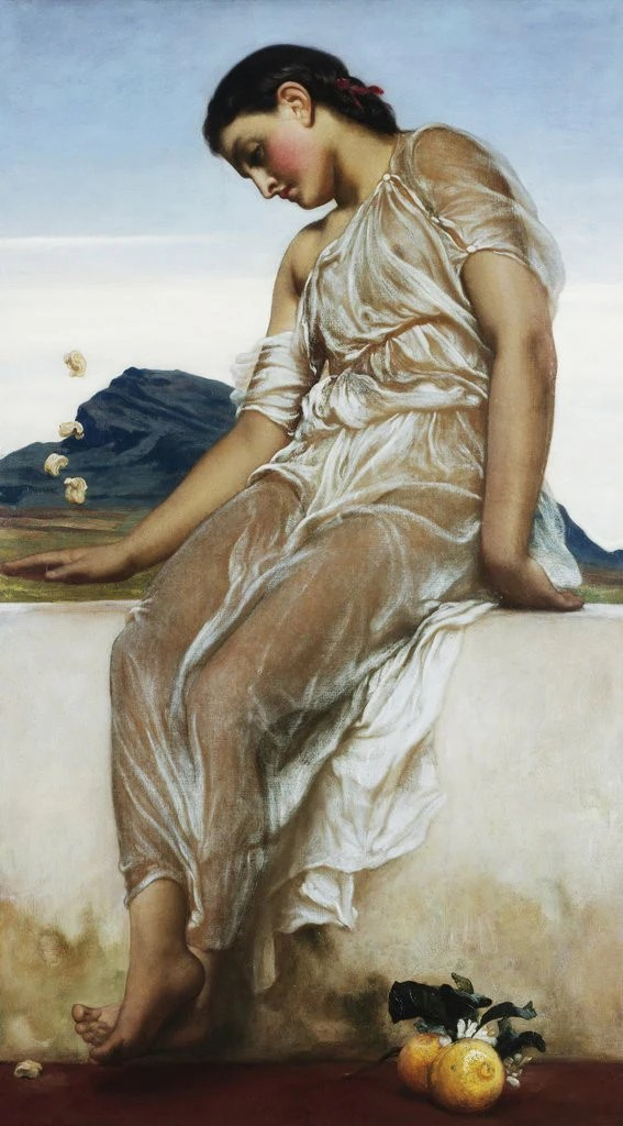 The Knucklebone Player posters  prints by Frederic Leighton