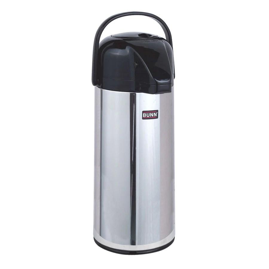 hight resolution of bunn airpot 2 2l glass pump style