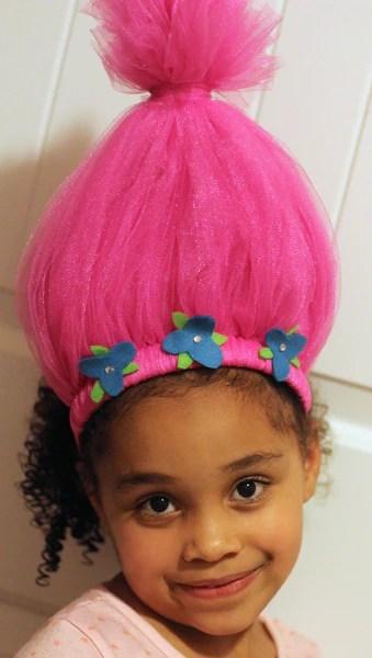 trolls hair headband twistin